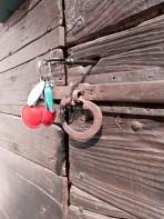L'antico portoncino d'ingresso