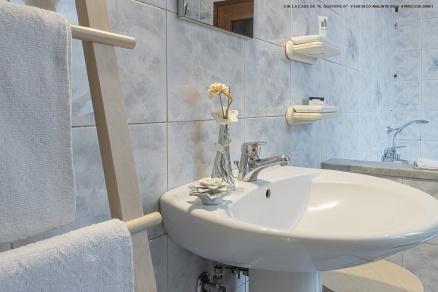 Il bagno sempre pulito e dotato di tutti i comfort
